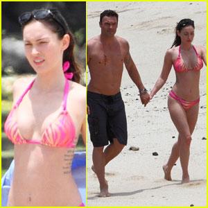 Megan Fox: Pink Bikini Babe