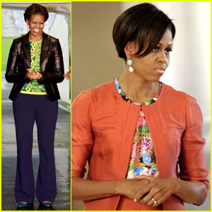 Michelle Obama: Push Up Power in South Africa!