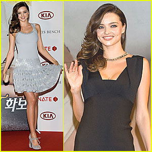 Miranda Kerr: South Korea Visit!