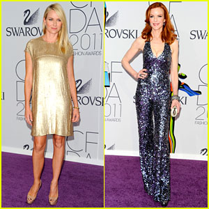Naomi Watts &#038; Marcia Cross - CFDA Fashion Awards 2011