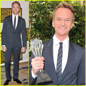 Neil Patrick Harris: Critics' Choice Best Supporting Actor!