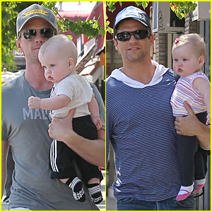 Neil Patrick Harris & David Burtka: Dinner with the Twins!