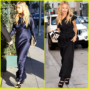 Nicole Richie & Rachel Zoe Attend Katherine Power's Wedding