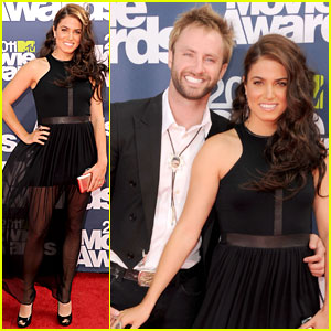 Nikki Reed: MTV Movie Awards 2011 with Paul McDonald