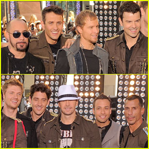 Backstreet Boys & NKOTB Take Over 'Today'