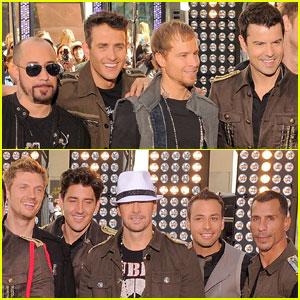 Backstreet Boys & NKOTB Take Over 'Today'