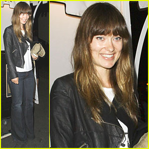 Olivia Wilde: Fresh Faced at Chateau Marmont