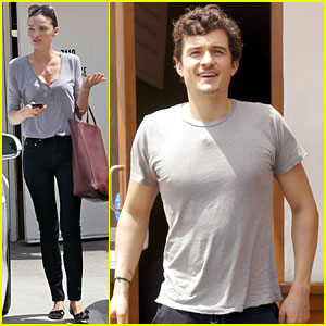 Orlando Bloom &#038; Miranda Kerr: M Cafe Mates!