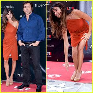 Penelope Cruz: Walk of Fame Ceremony with Javier Bardem!