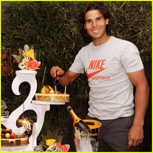 Rafael Nadal: Birthday Bash after French Open Win!