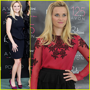 Reese Witherspoon: Avon Global Ambassador World Tour