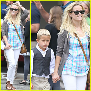 Reese Witherspoon: Father's Day Church Service