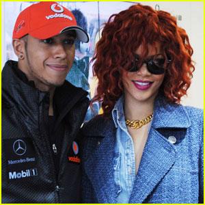 Rihanna: Canadian Grand Prix with Lewis Hamilton!