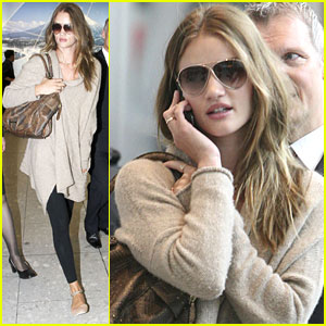 Rosie Huntington-Whiteley: I'm Ready for 'Transformers' Release!