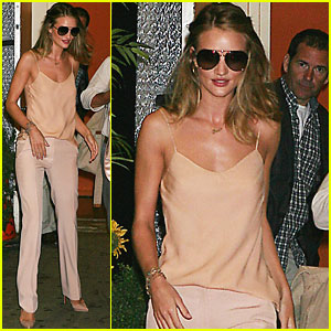 Rosie Huntington-Whiteley: Live with Regis &#038; Kelly!