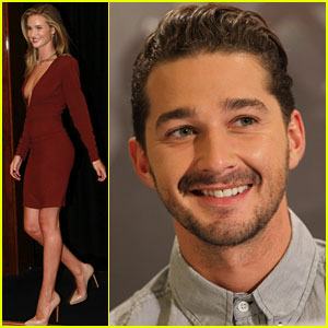 Rosie Huntington-Whiteley & Shia LaBeouf: 'Transformers' Berlin Press Conference!