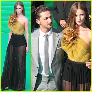 Rosie Huntington-Whiteley & Shia LaBeouf: 'Transformers' Moscow Premiere!