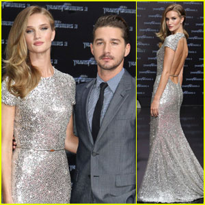 Shia LaBeouf & Rosie Huntington-Whiteley: 'Transformers' Berlin Premiere!