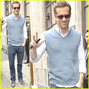 Ryan Reynolds: BBC Radio 1!
