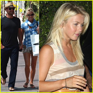 Ryan Seacrest & Julianne Hough: Fun In Florida