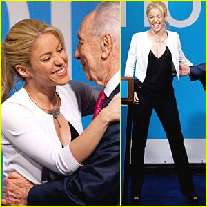 Shakira: Press Conference in Jerusalem!
