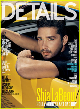 Shia LaBeouf Covers 'Details' August 2011