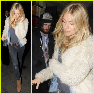 Sienna Miller & Tom Sturridge: Dinner with Kristen Stewart!