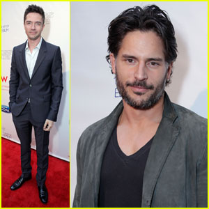 Topher Grace & Joe Manganiello: Ford Mustang Boss Party!