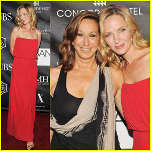 Uma Thurman: First Annual Stephan Weiss Apple Awards!