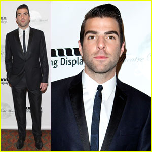 Zachary Quinto: Theatre World Awards Recipient!