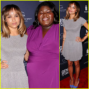 Zoe Kravitz: 'Yelling to the Sky' Premiere with Gabourey Sidibe!