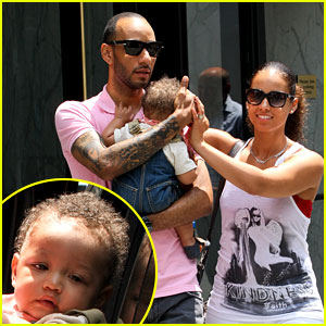 Alicia Keys & Swizz Beatz: NYC Stroll with Egypt!