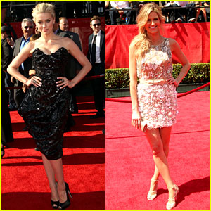 Amber Heard & Erin Andrews - ESPY Awards 2011
