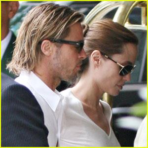 Brad Pitt & Angelina Jolie: Dorchester Duo