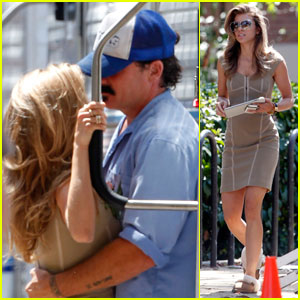 AnnaLynne McCord: Dominic Purcell Visits '90210'