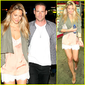Bar Refaeli & David Fisher: Tel Aviv Twosome!