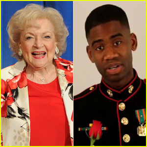 Betty White Gets Asked to the Marine Corps Ball
