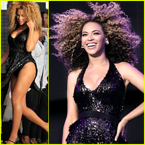Beyonce: Shining on Stage at T in the Park!