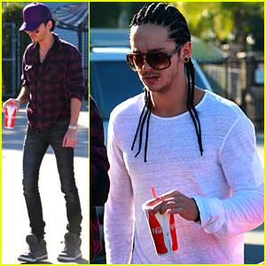 Bill & Tom Kaulitz: Lunch in Los Angeles!