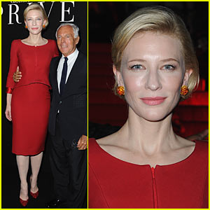 Cate Blanchett: Armani Prive Show at Paris Fashion Week!