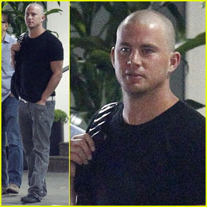 Channing Tatum Shaves His Head