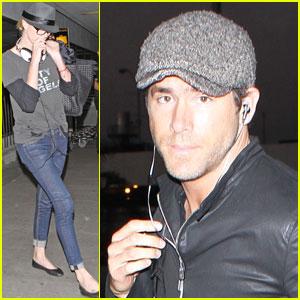Charlize Theron & Ryan Reynolds: LAX Landing