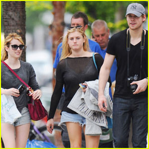 Chord Overstreet: London with Emma Roberts!