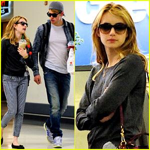 Chord Overstreet & Emma Roberts: McDonalds Mates!