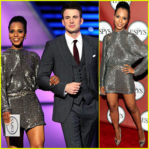 Chris Evans & Kerry Washington - ESPY Awards 2011