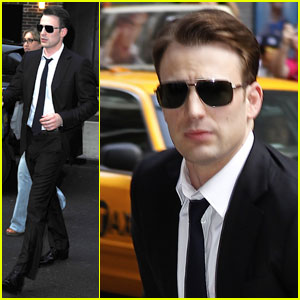 Chris Evans Sought Therapy Before Filming 'Captain America'