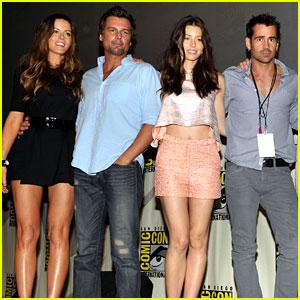 Colin Farrell & Jessica Biel: 'Total Recall' at Comic Con!