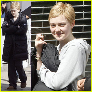 Dakota Fanning Wigs Out For 'Now Is Good'