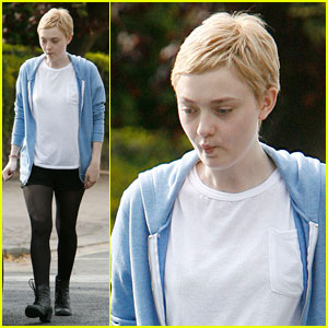 Dakota Fanning: Short Hair for 'Now Is Good'!