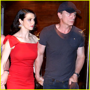 Daniel Craig Supports Rachel Weisz at Premiere